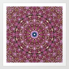 Floral Core Art Print