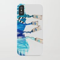 blues iPhone & iPod Cases featuring Blues by ST STUDIO