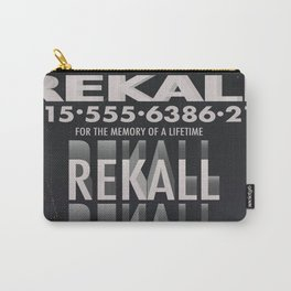 Rekall ( Total Recall ) Vintage magazine commercial. Carry-All Pouch
