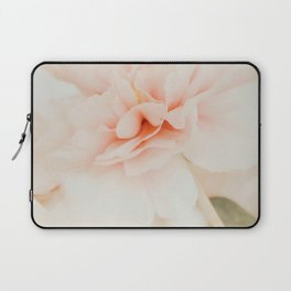 Burnt Orange Peony Laptop Sleeve