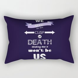 DEATH Rectangular Pillow