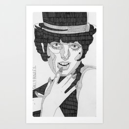 Sally Bowles Art Print