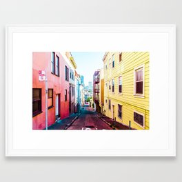 Colorful San Francisco 4 Framed Art Print