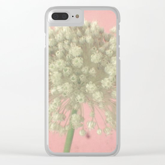 Rose Tinted Clear iPhone Case