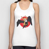 led zeppelin Tank Tops featuring Cas Zeppelin by DiHA