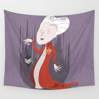 dracula Wall Tapestries featuring Dracula by Rod Perich