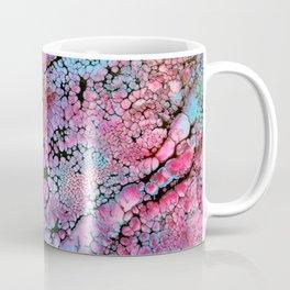Magenta in turquoise Coffee Mug