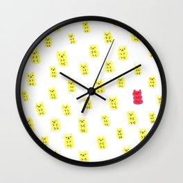 Gummy Bears Lemon Flavor Wall Clock