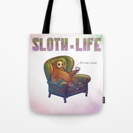 SLOTH LIFE fig. 3. Tote Bag
