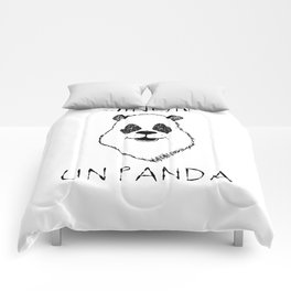 Sinon, un panda (5) Comforters