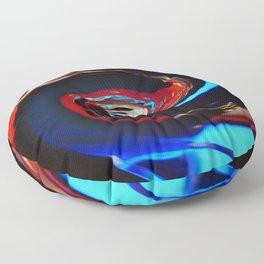 Swirling colors 04 Floor Pillow