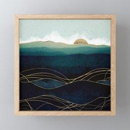 Indigo Waters Framed Mini Art Print
