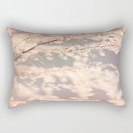 Delicate Flowers Rectangular Pillow