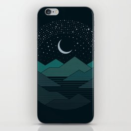 Between The Mountains And The Stars iPhone Skin