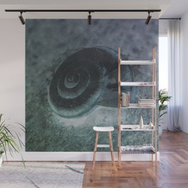 Shell - Sketch inverted colors Wall Mural