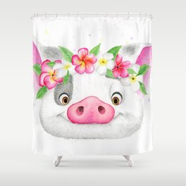 Pua Shower Curtain