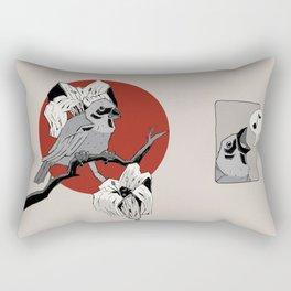 Finches Rectangular Pillow
