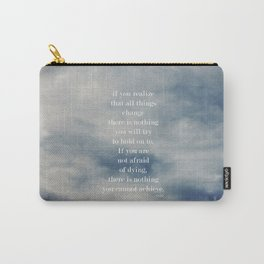 Change (Lao Tzu) Carry-All Pouch