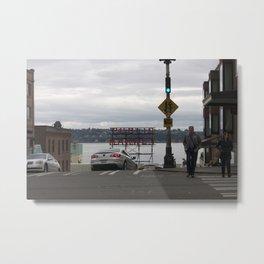 Public Market Seattle 1 Metal Print