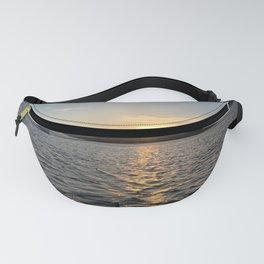 Greece Sea Sunset Fanny Pack