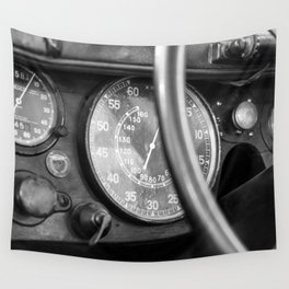 Vintage Car 3 Wall Tapestry