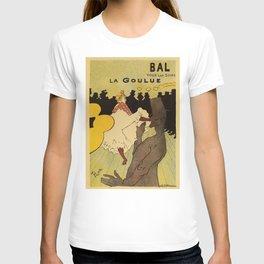 Paris nightlife 1891 Toulouse Lautrec T-shirt