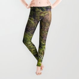 Jungle Waterfall III Leggings