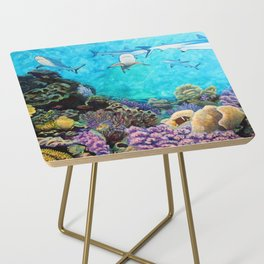 Shiver - Sharks in the Reef Side Table
