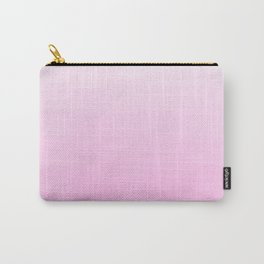 Modern blush pink ombre watercolor brushstrokes Carry-All Pouch