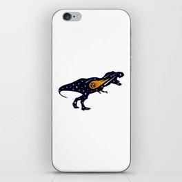 Dinosaur and meteorite strike #society6 #decor #buyart #artprint iPhone Skin