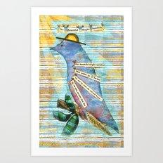 Ode to Sunshine Art Print