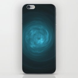 Blue Chi Vortex iPhone Skin