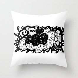 What? - It's Doodle baby! Throw Pillow