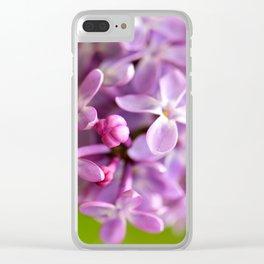 Lilac Dream Clear iPhone Case