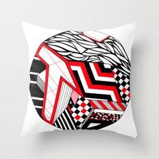 Circle ii Throw Pillow