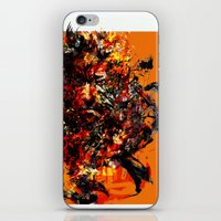 metal gear iPhone & iPod Skins featuring metal gear by ururuty