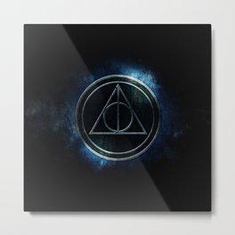 death symbol Metal Print