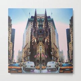 New York Trippy Metal Print