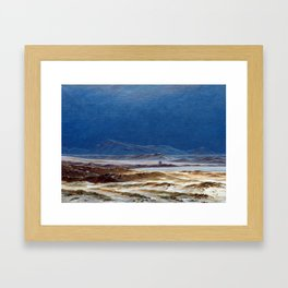 Caspar David Friedrich Northern Landscape, Spring Framed Art Print