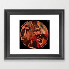 Lovely Circle Framed Art Print