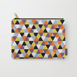 Multicolor circles pattern Carry-All Pouch