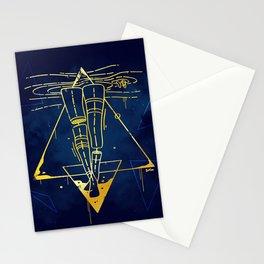 Midnight Bath - Blue/Gold pallette Stationery Cards