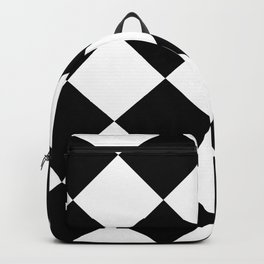 Checkered (Black and White) Backpack
