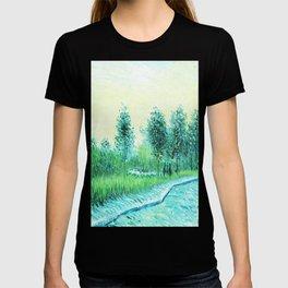 Van Gogh : Park in Asnieres T-shirt