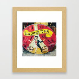 Live Your Truth Framed Art Print
