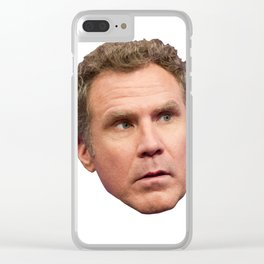 Just Will Ferrell Clear iPhone Case