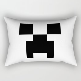 Creeper Face Rectangular Pillow