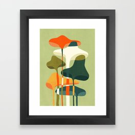 Little mushroom Framed Art Print