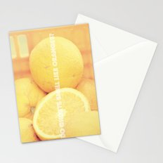 Do ghosts smell like oranges? Stationery Cards