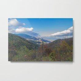 Blue Ridge Peaks Metal Print
